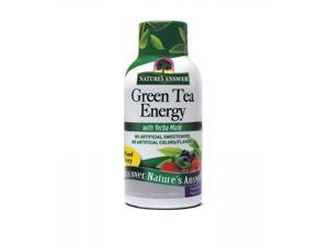 Nature's Answer, Natural Green Tea Energy with Yerba Mate Mixed Berry 2 fl oz