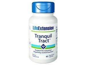 Life Extension Tranquil Tract  60 Vegetarian Capsules - Support for Intestinal Regularity and GI Comfort
