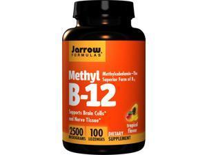 Methyl B-12 Tropical Flavor 2500 mcg - Jarrow Formulas - 100 - Lozenge
