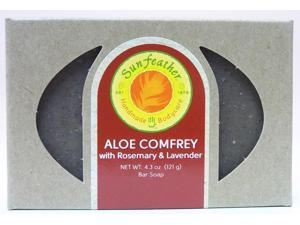Aloe & Comfrey Soap - Sunfeather - 4.3 oz - Bar Soap
