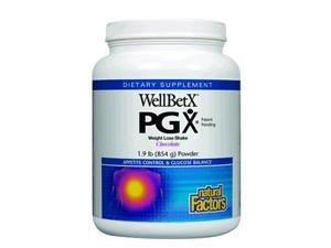 WellBetX Weight Loss Shake Chocolate - Natural Factors - 1.9 lbs - Powder
