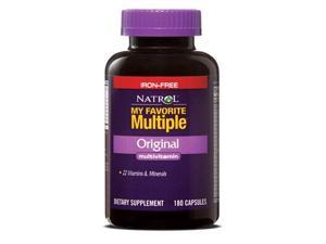 My Favorite Multiple - Original - Iron Free - Natrol - 180 - Capsule