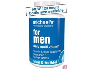 For Men - Michael's Naturopathic - 120 - Tablet