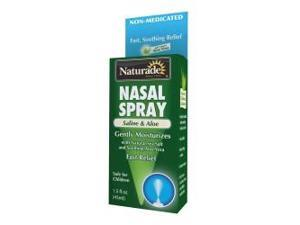 Saline & Aloe Nasal Spray - Naturade Products - 1.5 oz - Spray