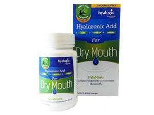 HylaMints - Dry Mouth Lozenge - Hyalogic - 60 - Lozenge
