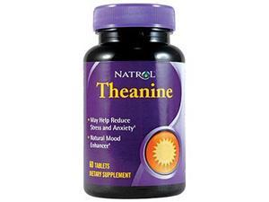 Theanine w/ Serotain - Natrol - 60 - Tablet