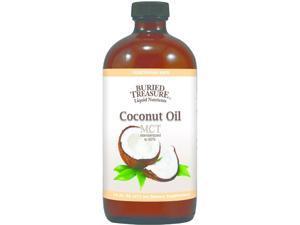 Coconut Oil MCT - Buried Treasure - 16 oz - Liquid