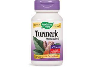 Turmeric, Standardized - Nature's Way - 60 - VegCap