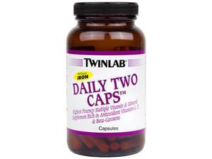 Daily Two Without Iron - Twinlab, Inc - 180 - Capsule