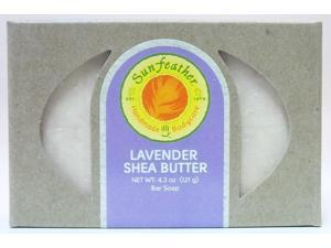 Lavender Shea Butter Soap - Sunfeather - 4.3 oz - Bar Soap