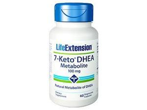 7- Keto DHEA Metabolite 100 mg - Life Extension - 60 - VegCap