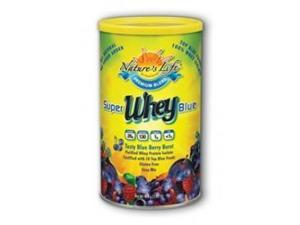 Super Blue Whey - Nature's Life - 1.05 lbs - Powder
