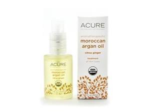 Aromatherapeutic Argan Oil Citrus Ginger - Acure Organics - 1 oz - Oil