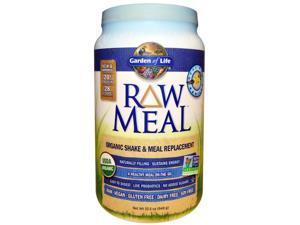 Raw Organic Meal Vanilla - Garden of Life - 949 g - Powder