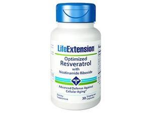Optimized Resveratrol with Nicotinamide Riboside - Life Extension - 30 - VegCap