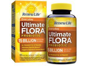 Ultimate Flora Adult Formula 15 Billion - Renew Life - 60 - VegCap