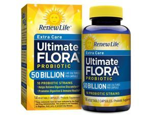 Ultimate Flora Critical Care 50 Billion - Renew Life - 14 - VegCap
