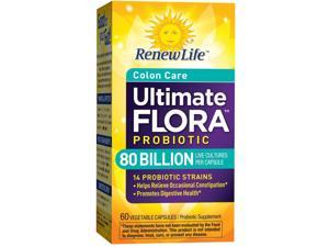 Ultimate Flora Critical Colon BifidoMAX 80 Billion - Renew Life - 60 - VegCap