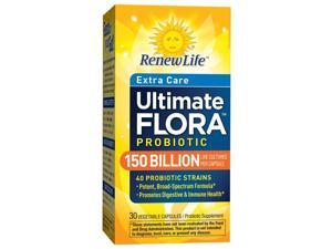 Ultimate Flora Mega Potent 150 Billion - Renew Life - 30 - VegCap