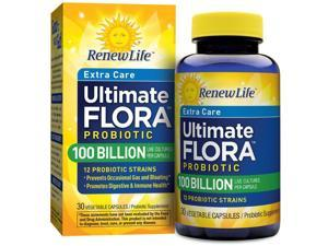 Ultimate Flora Ultra Potent 100 Billion - Renew Life - 30 - VegCap