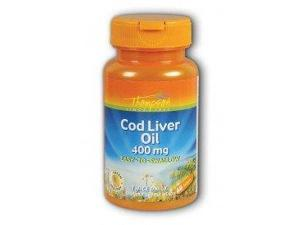 Cod Liver Oil High Potency - Thompson - 60 - Tablet