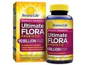 Ultimate Flora Women's Complete 90 Billion - Renew Life - 60 - VegCap
