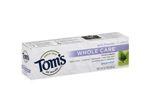 Whole Care Toothpaste Spearmint with Fluoride - Tom's Of Maine - 4.7 oz - Tube