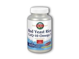 Red Yeast Rice CoQ10 & Omega 3 - Kal - 60 - Softgel