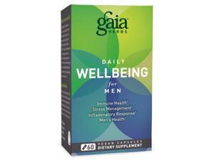 Daily Wellbeing for Men - Gaia Herbs - 60 - VegCap
