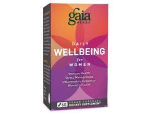 Daily Wellbeing  for Women - Gaia Herbs - 60 - VegCap
