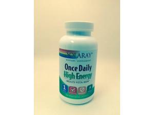 Once Daily High Energy - Solaray - 180 - Capsule