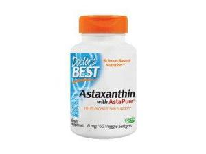 Astaxanthin with AstaPure (6mg) - Doctors Best - 60 - Softgel