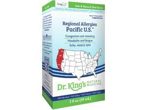 Regional Allergies: Pacific U.S. - Dr King Natural Medicine - 2 oz - Liquid