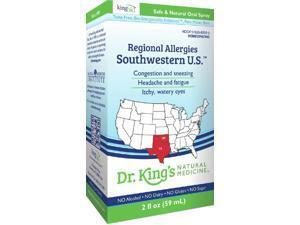 Regional Allergies: Southwestern U.S. - Dr King Natural Medicine - 2 oz - Liquid