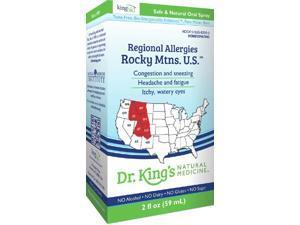 Regional Allergies: Rocky Mtns. U.S. - Dr King Natural Medicine - 2 oz - Liquid