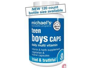Teen Boys Daily Multi Vitamin - Michael's Naturopathic - 120 - VegCap