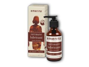 Orgainc Oil-Based Lubricant Mayan Chocolate - Emerita - 4 oz - Liquid