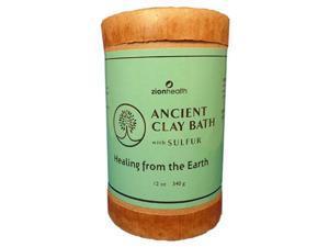 Clay Bath Sulfur - Zion Health - 12 oz - Powder