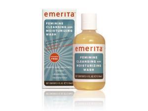 Feminine Cleansing & Moisturizing Wash - Emerita - 4 oz - Liquid