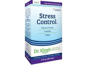 Stress Control - Dr King Natural Medicine - 2 oz - Liquid