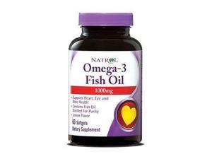 Omega-3 Fish Oil 1000mg - Natrol - 60 - Softgel