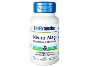 Neuro-Mag Magnesium L-Threonate - Life Extension - 90 - VegCap