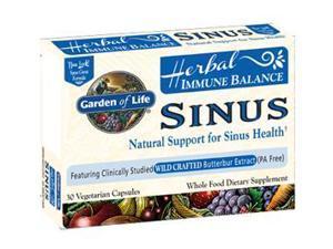 Immune Balance Sinus - Garden of Life - 60 - VegCap