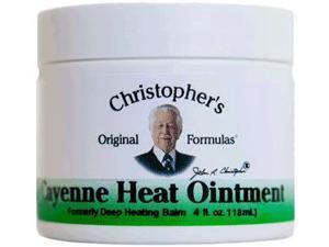 Cayenne Heat - Dr. Christopher - 4 oz - Balm