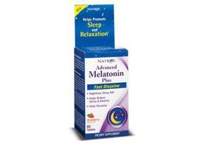 Advanced Sleep Melatonin Plus - Natrol - 60 - Tablet