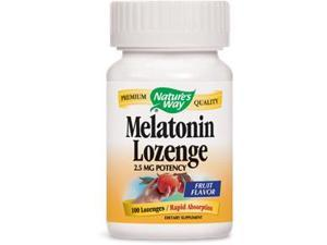 Melatonin 2.5mg Sublingual - Nature's Way - 100 - Lozenge