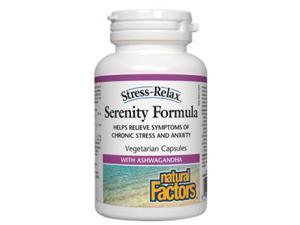 Stress-Relax Pharma GABA Chewable - Natural Factors - 120 - VegCap
