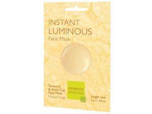 Instant Luminous Clay Mask - Andalou Naturals - .28 oz - Packet