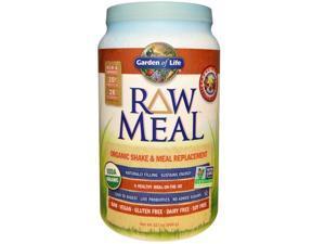 Raw Organic Meal Vanilla Spiced Chai - Garden of Life - 2.5 lbs (1115 g) - Powder