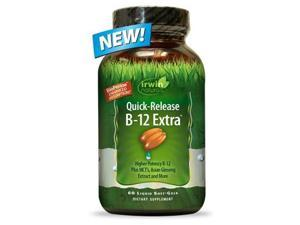 Quick-Release B-12 Extra - Irwin Naturals - 60 - Softgel